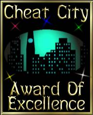 Cheat City Award of Excellence