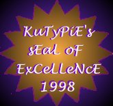 KuTyPiE's Seal of Excellence 1998
