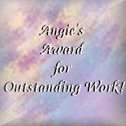 Angie's Award for Outstanding Work